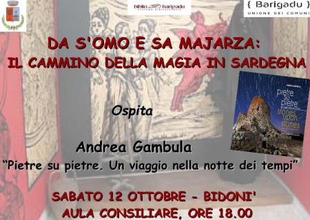 Presentazione del libro Pietre su Pietre di Andrea Gambula